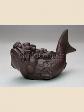 """Cod Fish"" tea pet"