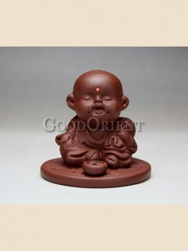 """Happy little Buddha""tea pet"