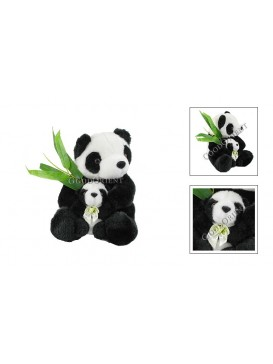 Panda Mother and Son---Small