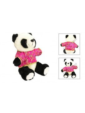 Panda in Chinese Pink Jacket