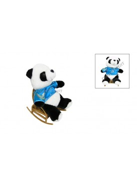 Panda On the Rocking Chair