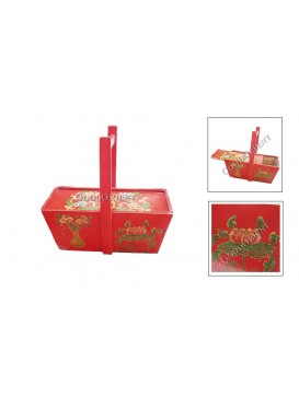 Red Lotus Ancient Food Holder