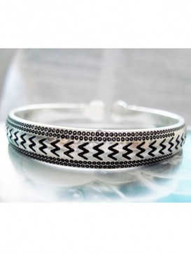 """Chinese """"Cycle?¡?° design silver bracelet"""