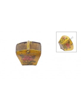 Mini Archaized Yellow Peony ' Dou ' Holder---Small