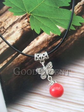Delicate butterfly style necklace