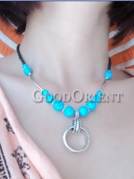 """""""Secret of the sea"""" style necklace"""