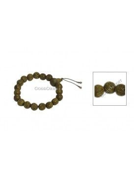 Oriental Protection Bracelet---Carved Sutra