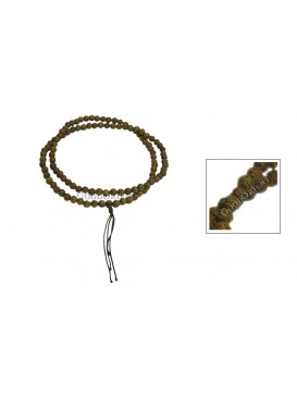 Oriental Protection Long Prayer Cord---Carved
