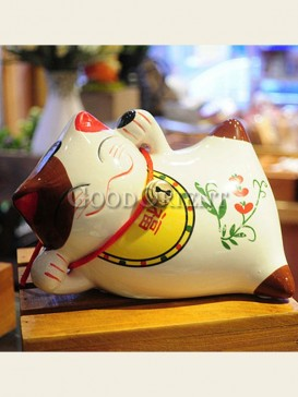 Cute Maneki Neko piggy bank