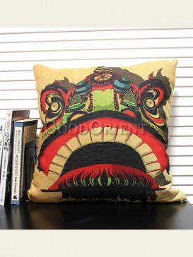 Zakka's vintage style cushion-Lion