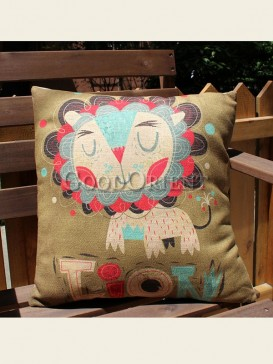 Zakka's vintage style cushion-Poker