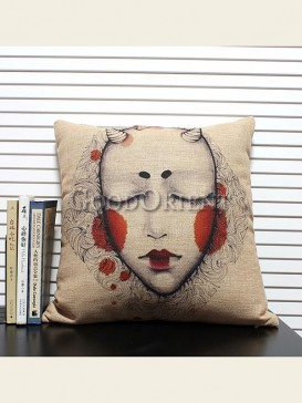 Zakka's vintage style cushion-Little Monster