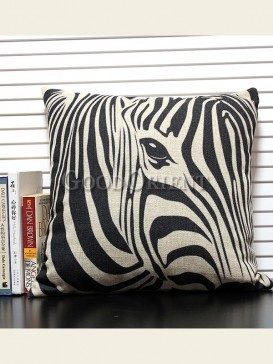 Zakka's vintage style cushion-Abstract zebra