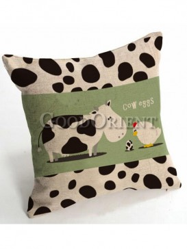 Zakka's vintage style cushion-Cow