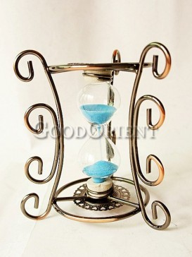 Zakka's vintage wrought iron hourglass
