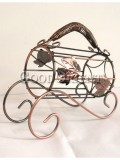 Classical vintage wine holder