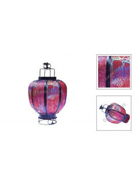 Chinese Small Candle Gauze Lantern---Red