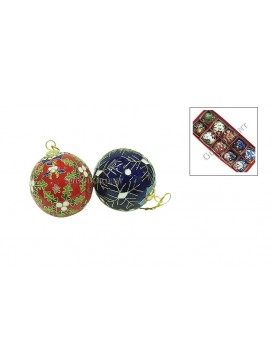 Cloisonne Christmas Colored Ball