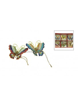 Cloisonne Butterfly Hanging Decoration