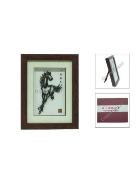 Chinese Iron Picture Art---Swift Horse