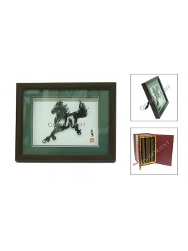 Chinese Iron Picture Art---Galloping Horse