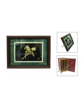 Chinese Gold Picture Art---Horse