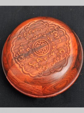 Carved Dragon Seal Ink Container
