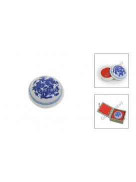 Red Chinese Seal Ink for Sealing Artworks