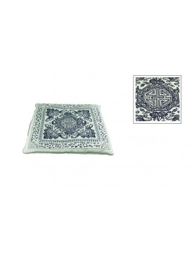 Chinese Batik Fabrics Cushion Cover---Longevity