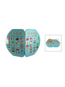 World Map Set with Stickers