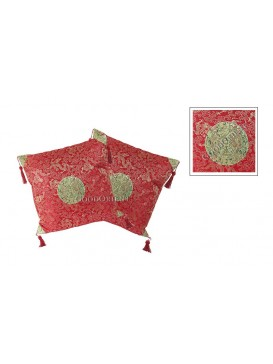 Small Dragon Cushion Covers Set---Red