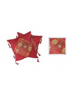 Chinese Floral Cushion Covers Set