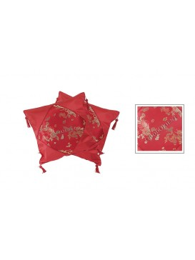 Red Dragon and Phoenix Cushion Covers Set