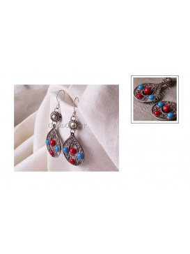 Imitated Tibetan Earring---Drop