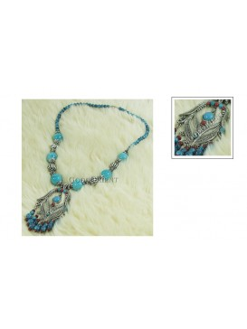 Imitated Tibetan Necklace---Gentle Breeze