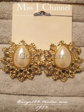 Luxury royal style earrings