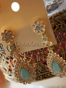 Royal vintage earrings