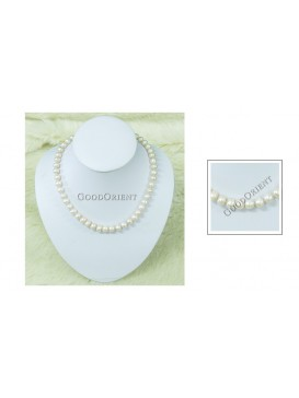 Ivory Freshwater Pearl Necklace---