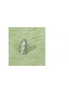 Sun Ray White Freshwater Pearl Ring