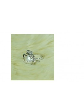 Love White Freshwater Pearl Ring