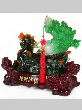 Perfect Jade Cabbage & Pixiu Decoration