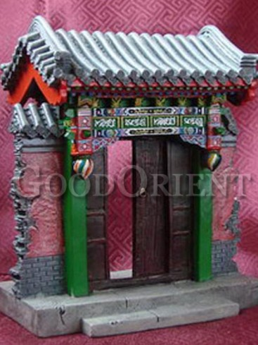 Chinese Miniature Arts--Blessing Gate