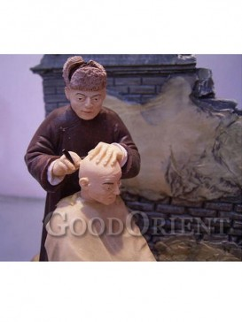 Chinese Miniature Arts--Haircut