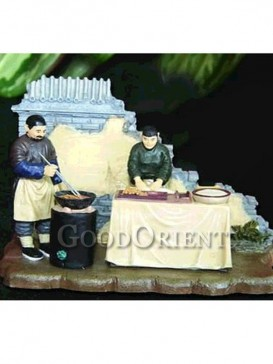Chinese Miniature Arts--Fried Dough