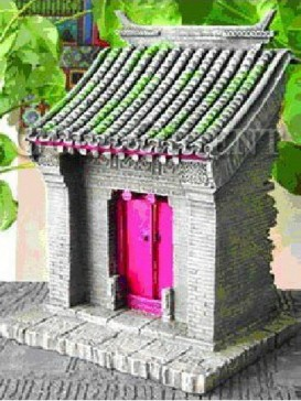 Chinese Miniature Arts--Wishful Door