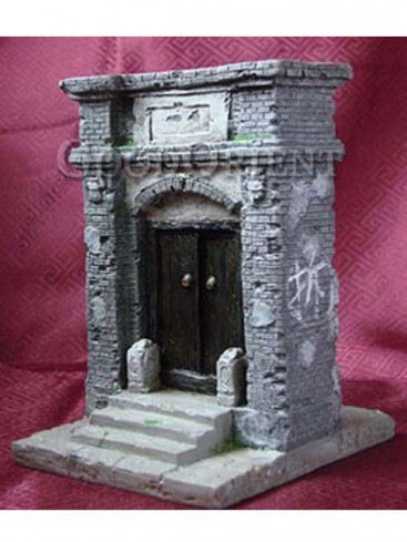 Chinese Miniature Arts--Wealthy Gate