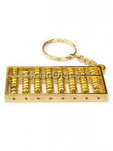 Fortune Brass Abacus Statue