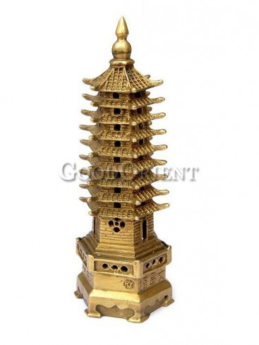 Exquisite Brass Statue Series-Wenchang Tower