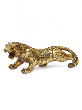 Classical Brass Lucky Statue Series-Tiger