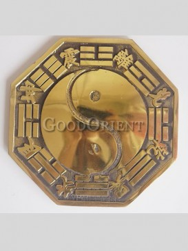 Exquisite Brass Statue series-Bagua Mirror
